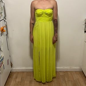Dresses & Skirts - Urban outfitters green neon dress